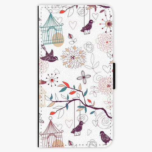 Flipové pouzdro iSaprio - Birds - Huawei P9
