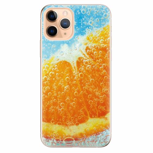 Silikonové pouzdro iSaprio - Orange Water - iPhone 11 Pro