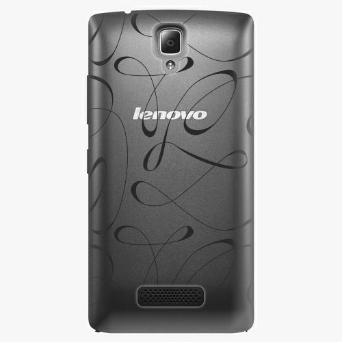 Plastový kryt iSaprio - Fancy - black - Lenovo A2010