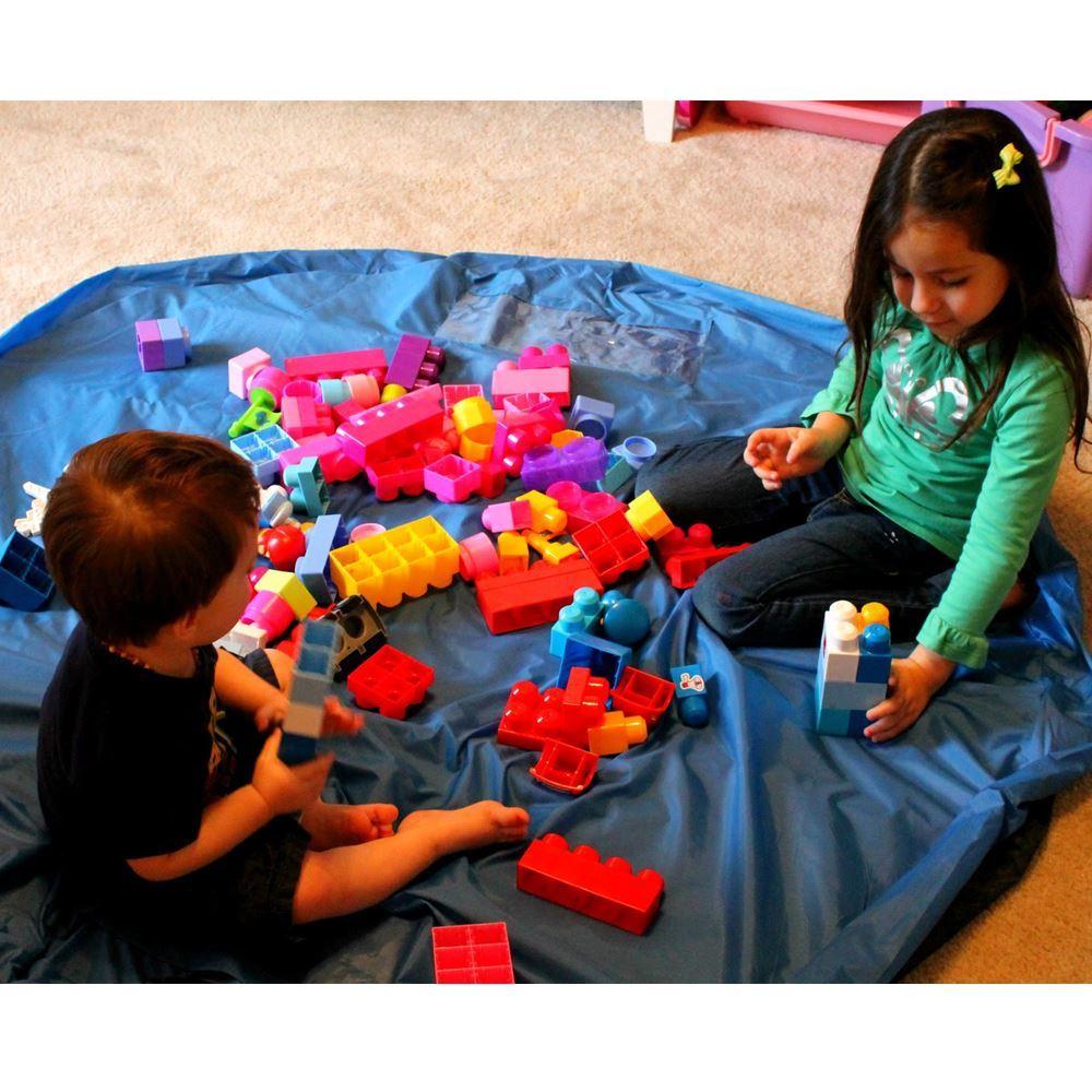 Vak na hračky modrý - malý