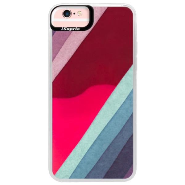 Neonové pouzdro Pink iSaprio - Glitter Stripes 01 - iPhone 6 Plus/6S Plus