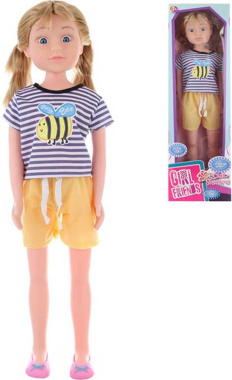 Panenka velká chodící 80cm chodička v krabici