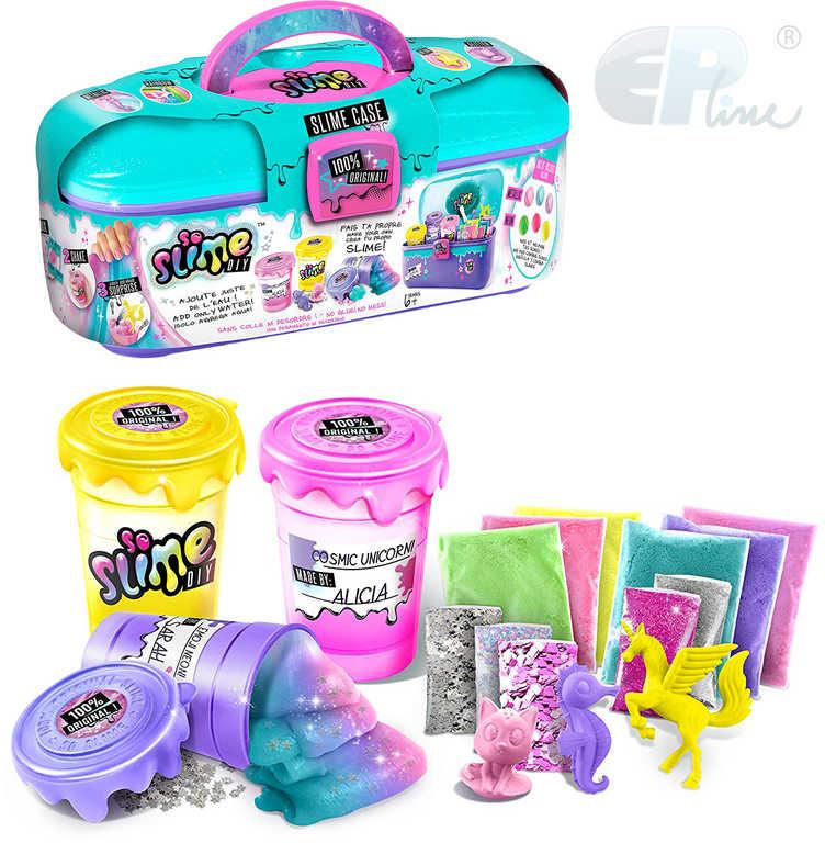 EP Line So Slime kufřík pro holky velký kreativní set výroba slizu