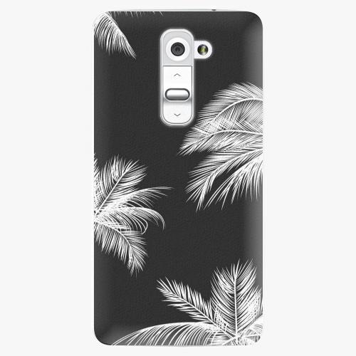 Plastový kryt iSaprio - White Palm - LG G2 (D802B)
