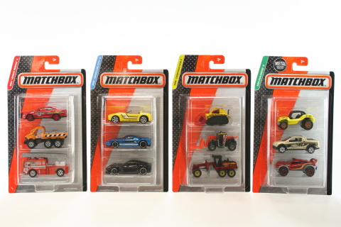 Matchbox 3-pack C3713