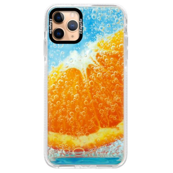 Silikonové pouzdro Bumper iSaprio - Orange Water - iPhone 11 Pro Max