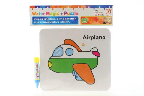 Vodní malování - Letadlo