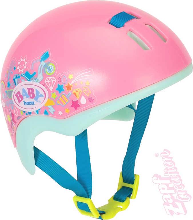 ZAPF CREATION Helma bezpečnostní na kolo doplněk pro panenku miminko Baby Born