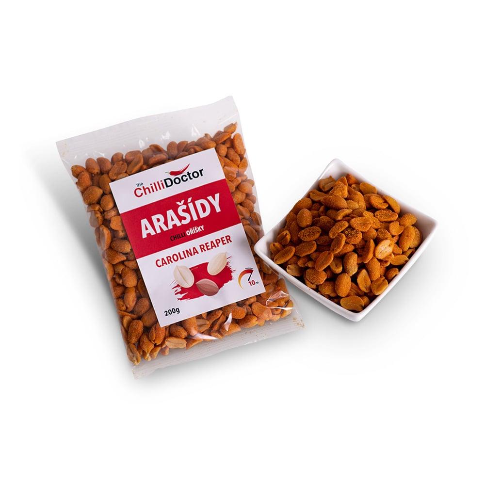 Arašídy s Carolina Reaper 200 g