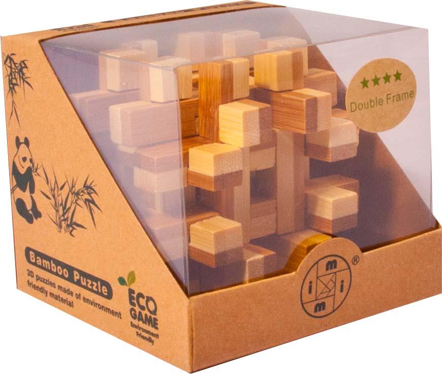 Bambusový - hlavolam - Hranoly