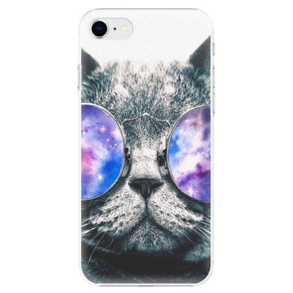Plastové pouzdro iSaprio - Galaxy Cat - iPhone SE 2020