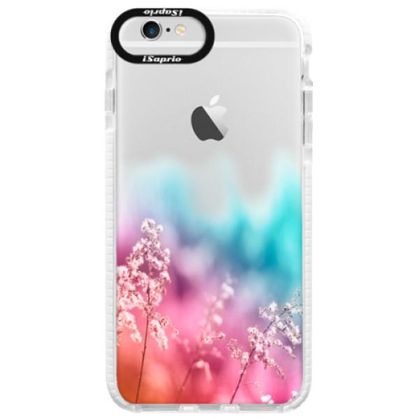 Silikonové pouzdro Bumper iSaprio - Rainbow Grass - iPhone 6/6S