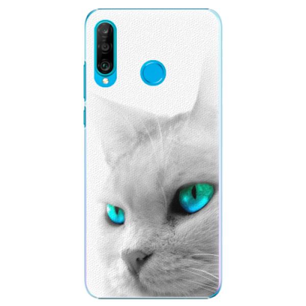 Plastové pouzdro iSaprio - Cats Eyes - Huawei P30 Lite
