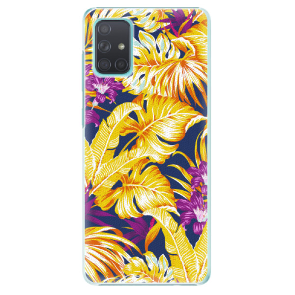 Plastové pouzdro iSaprio - Tropical Orange 04 - Samsung Galaxy A71