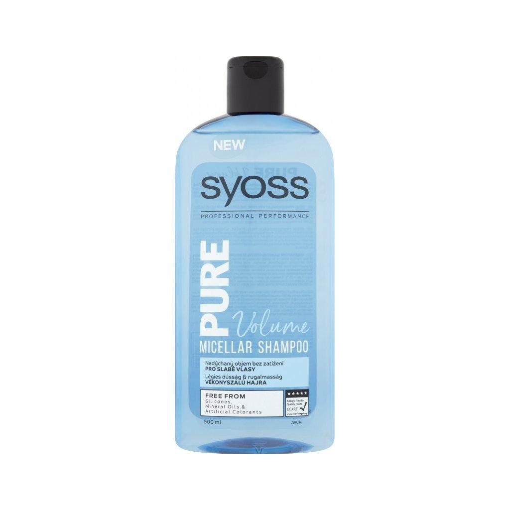 Pure Volume micelární šampon pro slabé vlasy, 500 ml