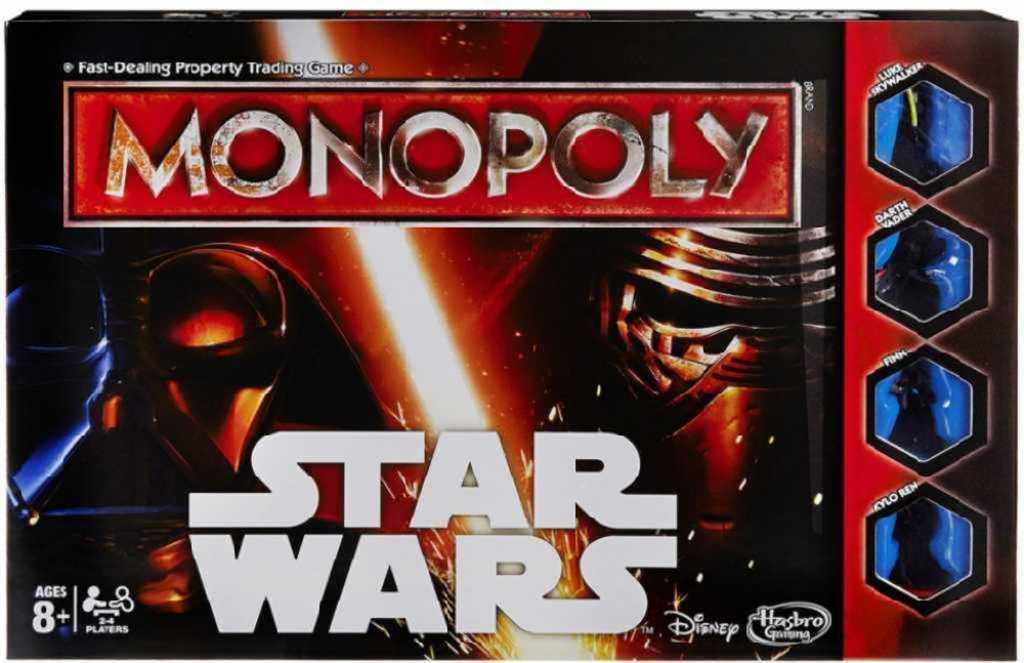 HASBRO Hra MONOPOLY Star Wars CZ *SPOLEČENSKÉ HRY*