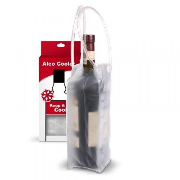 Transparentní chladič lahví