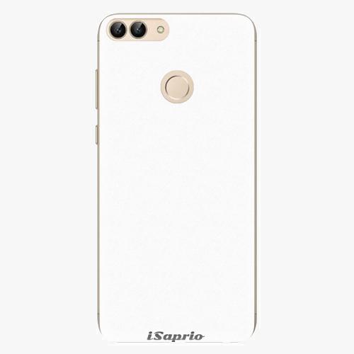 Silikonové pouzdro iSaprio - 4Pure - bílý - Huawei P Smart