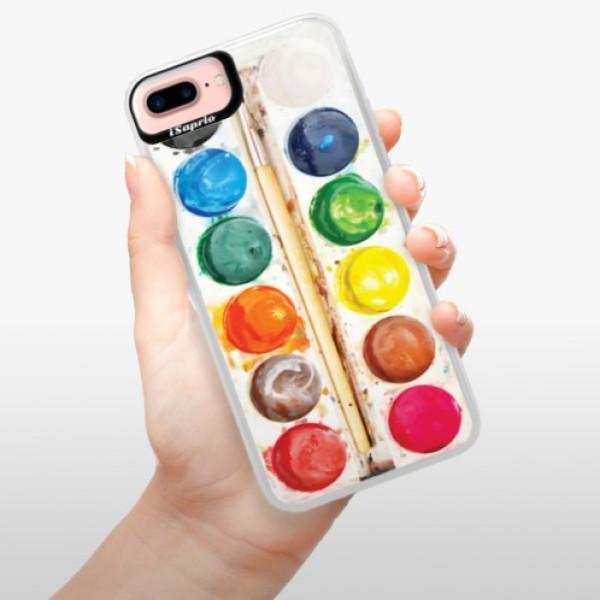 Neonové pouzdro Pink iSaprio - Watercolors - iPhone 7 Plus