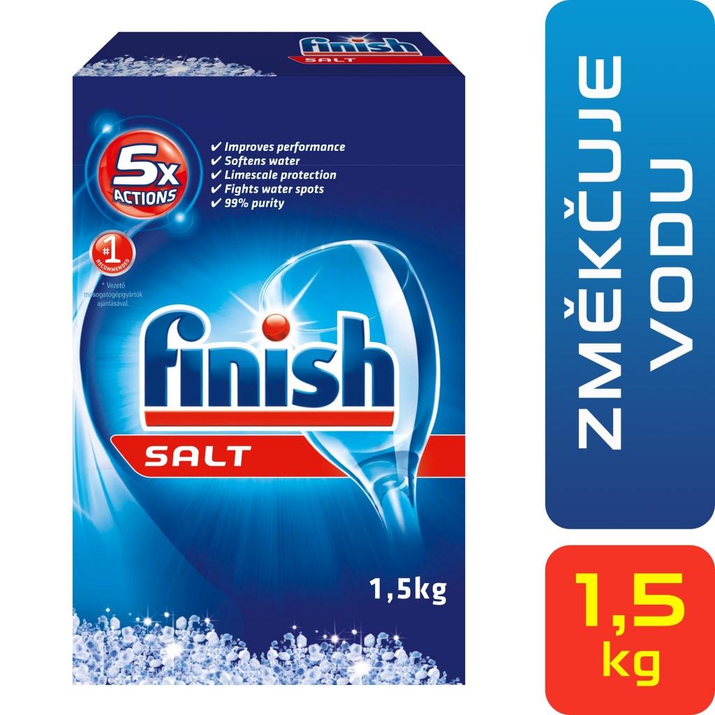 Finish Calgonit speciální sůl do myčky 1,5 kg