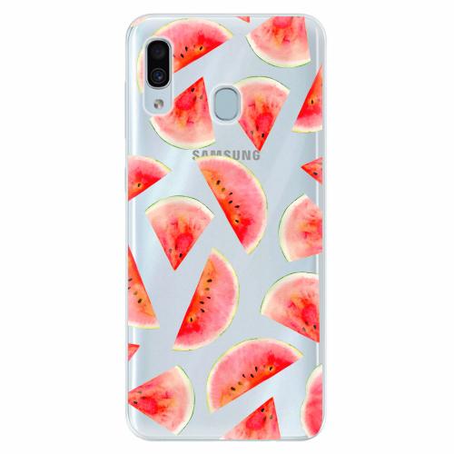 Silikonové pouzdro iSaprio - Melon Pattern 02 - Samsung Galaxy A30