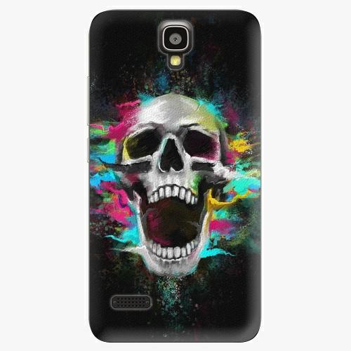 Plastový kryt iSaprio - Skull in Colors - Huawei Ascend Y5