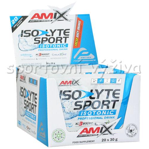 20x Isolyte Sport Isotonic ESD Powder 30g + Endurosnack 75g - pomeranč