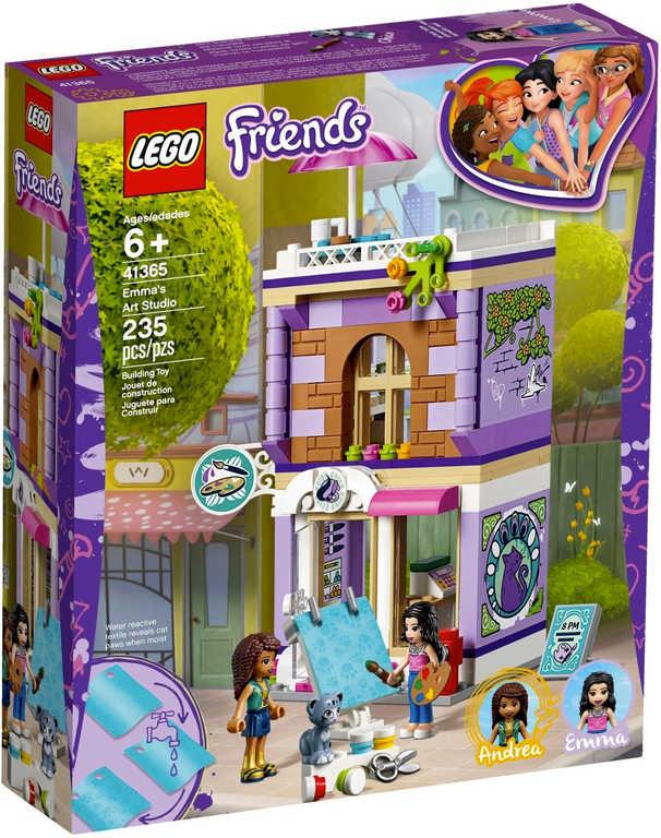 LEGO FRIENDS Emma a umělecké studio 41365
