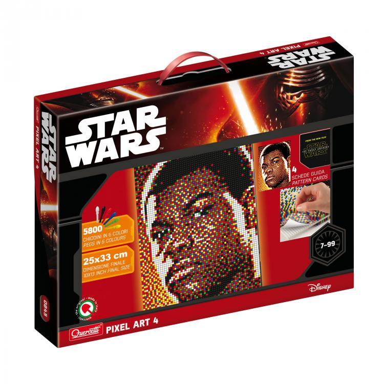 Quercetti Pixel Art 4 Star Wars Finn 0845