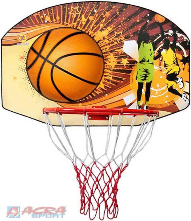 ACRA Deska basketbalová na košíkovou 90 x 60 cm