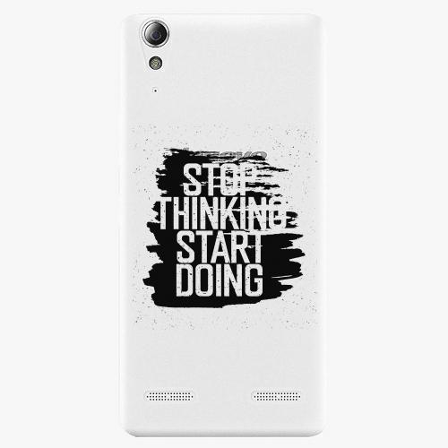 Plastový kryt iSaprio - Start Doing - black - Lenovo A6000 / K3