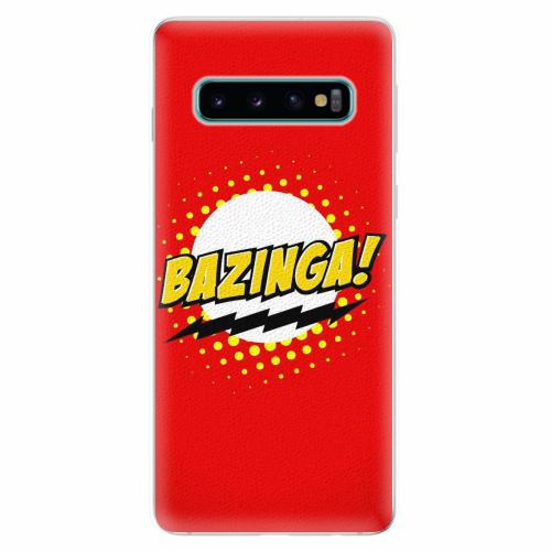 Silikonové pouzdro iSaprio - Bazinga 01 - Samsung Galaxy S10