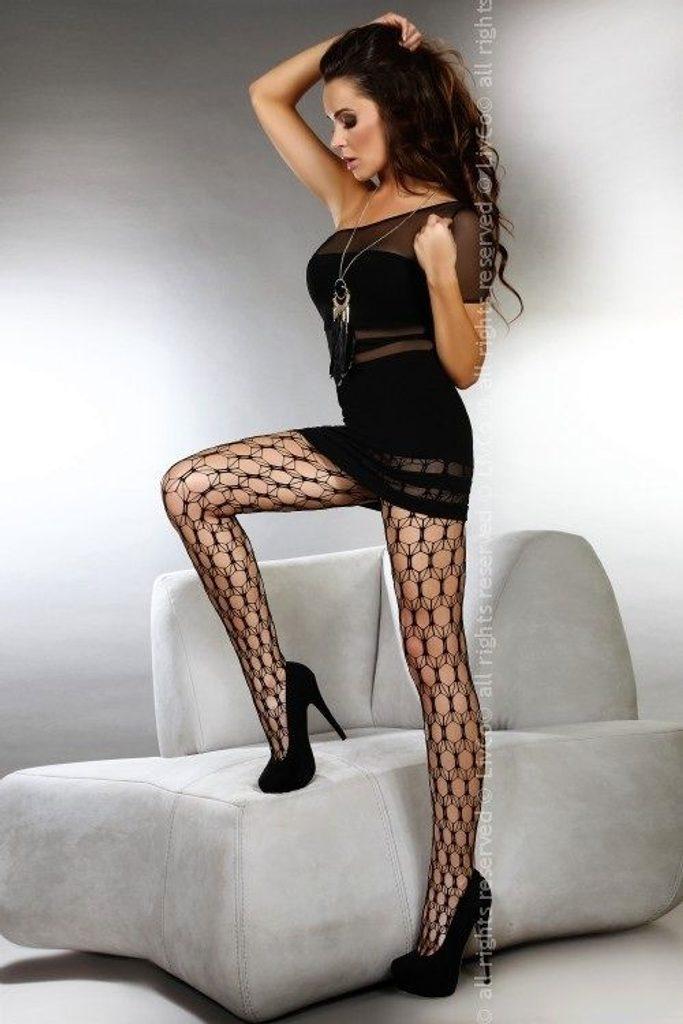Punčochové kalhoty LivCo Corsetti Adira - Černá S - L