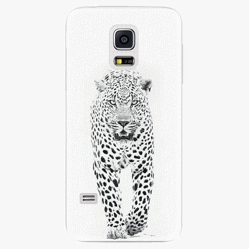 Plastový kryt iSaprio - White Jaguar - Samsung Galaxy S5 Mini