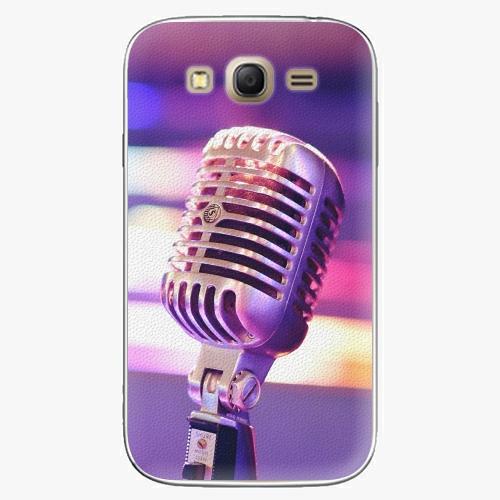 Plastový kryt iSaprio - Vintage Microphone - Samsung Galaxy Grand Neo Plus