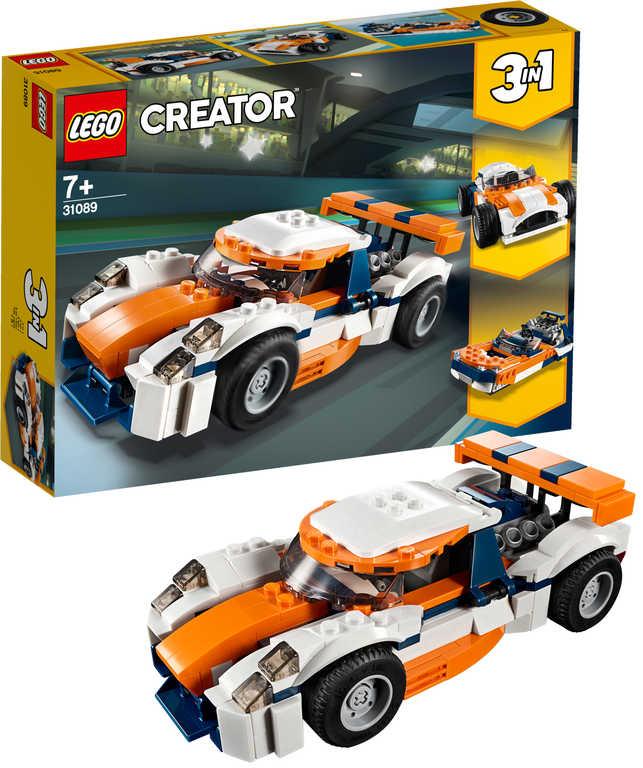 LEGO CREATOR Závodní model Sunset 3v1 31089