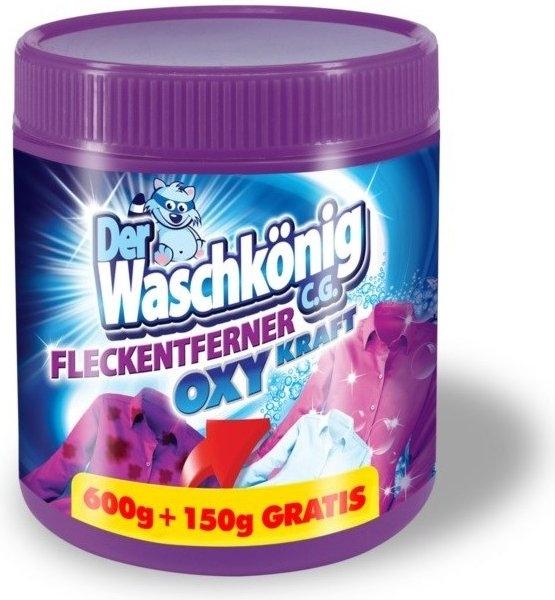 Waschkönig Oxy Kraft Color bělidlo a odstraňovač skvrn pro barevné prádlo 750 g