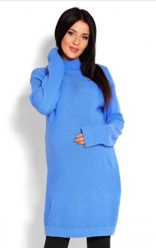 be-maamaa-tehotensky-svetr-tunika-modra-uni