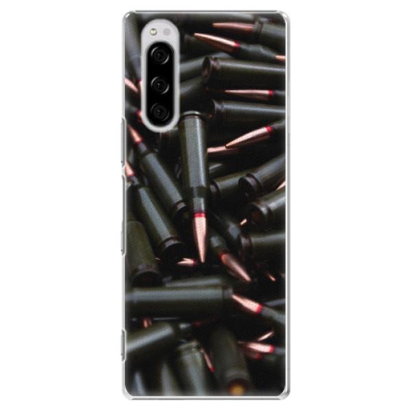 Plastové pouzdro iSaprio - Black Bullet - Sony Xperia 5