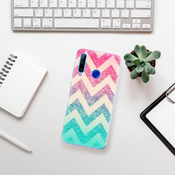 Odolné silikonové pouzdro iSaprio - Zig-Zag - Huawei Honor 20 Lite
