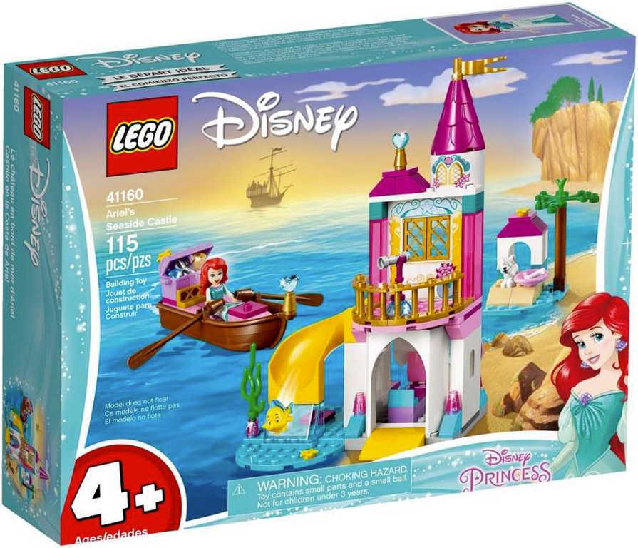 LEGO PRINCESS Ariel a její hrad u moře 41160