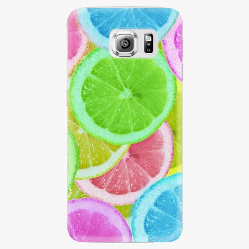 Plastový kryt iSaprio - Lemon 02 - Samsung Galaxy S6 Edge Plus