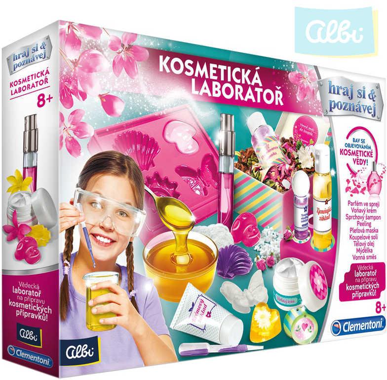 ALBI Laboratoř kosmetická experimentální sada v krabici
