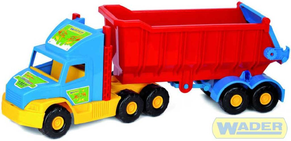 WADER Super Truck sklápěč fólie 36400