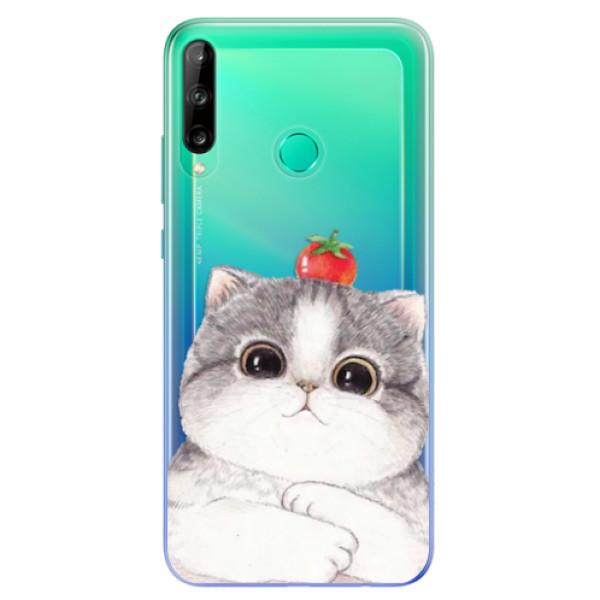 Odolné silikonové pouzdro iSaprio - Cat 03 - Huawei P40 Lite E