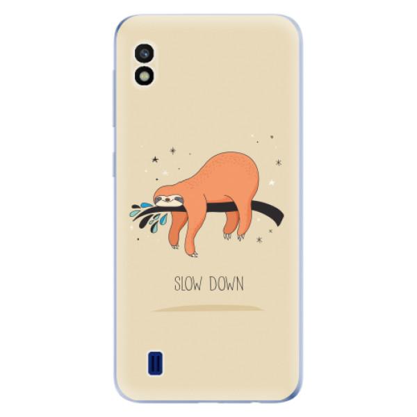Odolné silikonové pouzdro iSaprio - Slow Down - Samsung Galaxy A10
