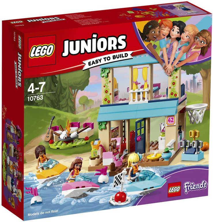 LEGO JUNIORS Stephanie a její dům u jezera 10763 STAVEBNICE