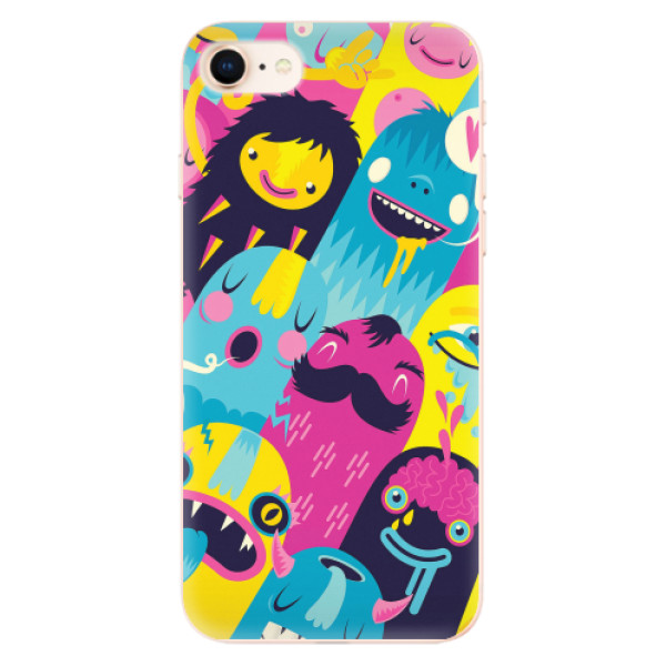 Odolné silikonové pouzdro iSaprio - Monsters - iPhone 8