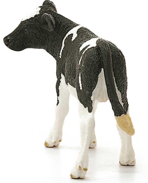 SCHLEICH Holšteinské tele 8cm figurka kráva ručně malovaná plast