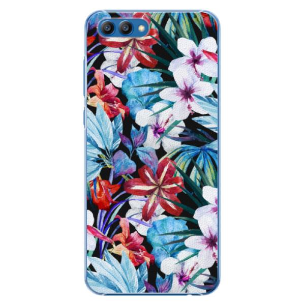 Plastové pouzdro iSaprio - Tropical Flowers 05 - Huawei Honor View 10
